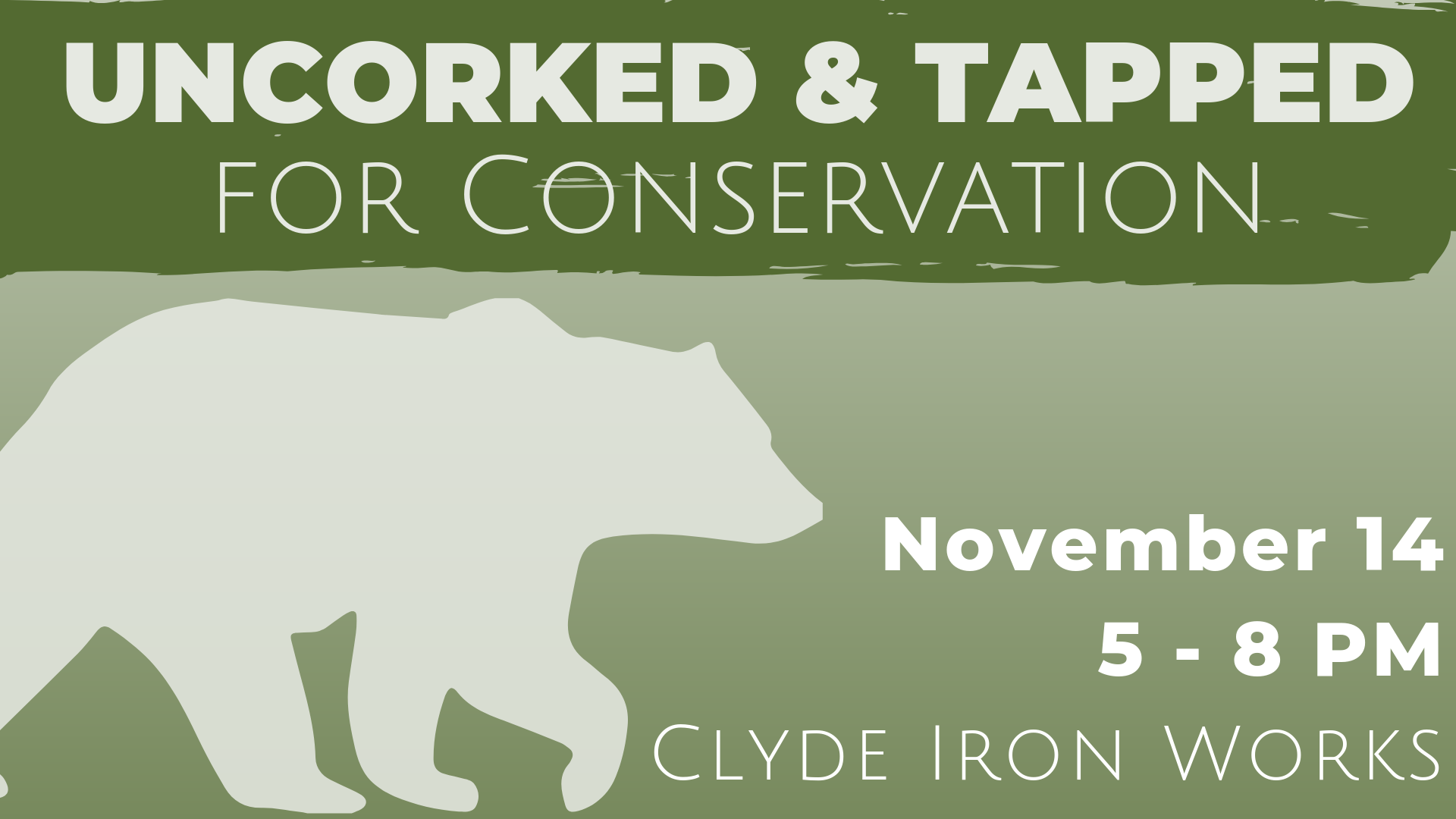 Uncorked Tapped For Conservation Lake Superior Zoo